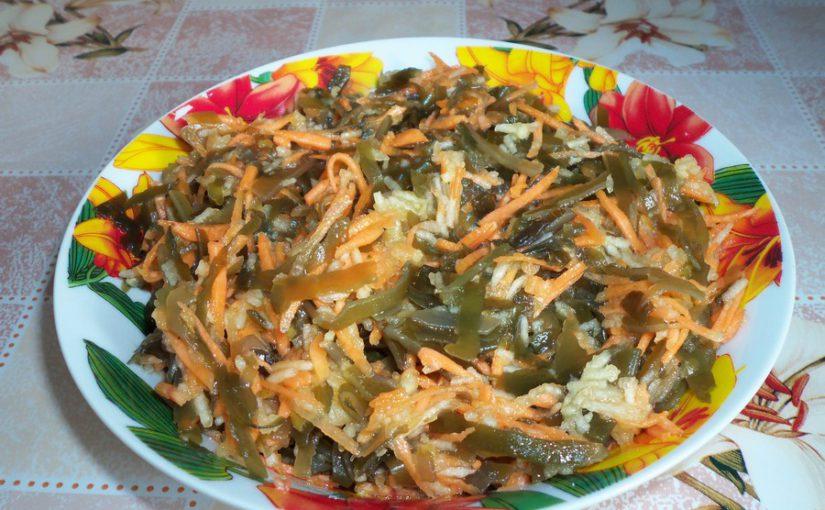Салат з морської капусти з морквою та яблуком – дуже смачний