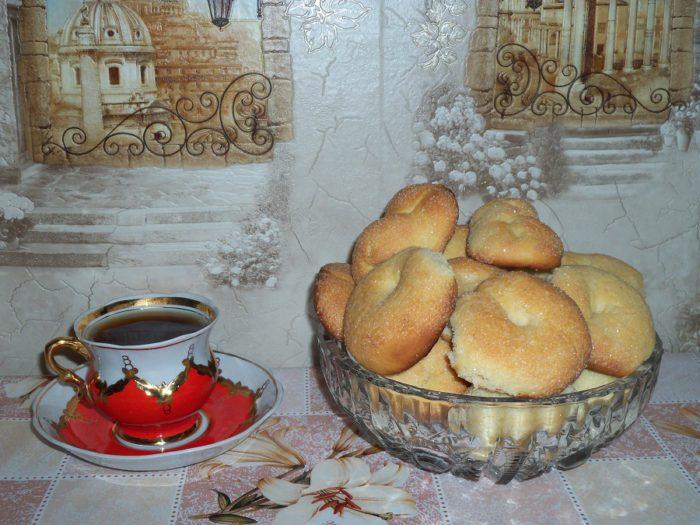 Домашнє м'яке печиво на кефірі