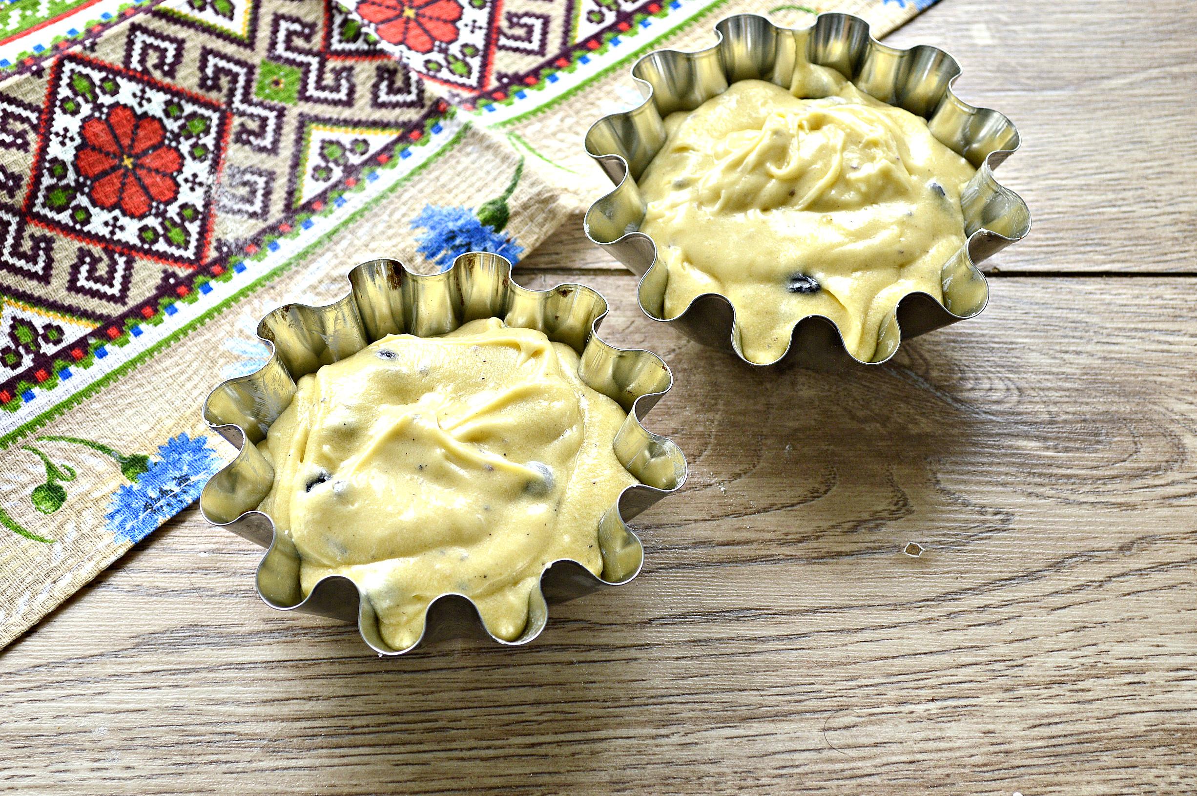 Найсмачніший великодній кекс з ізюмом у формочках - без дріжджів та молока
