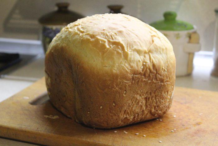 Здобний молочний хліб в хлібопічці