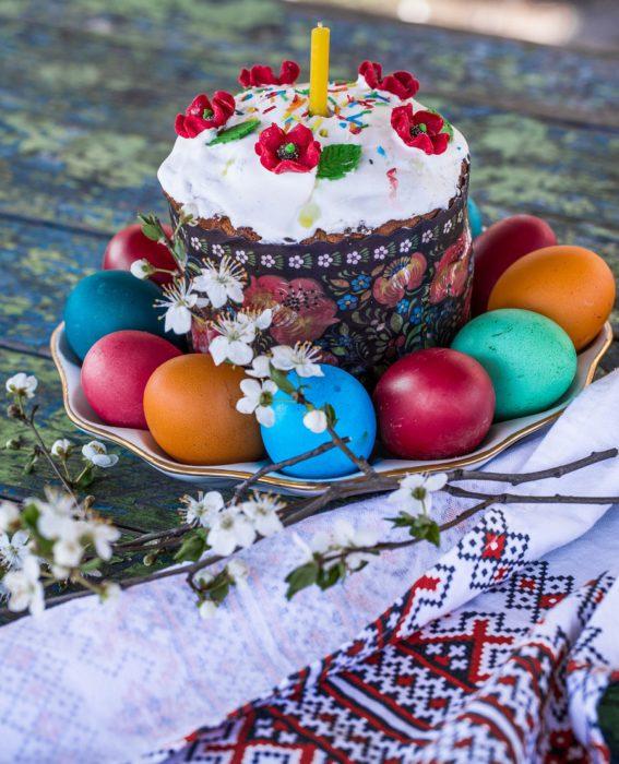Домашні паски - традиційний Великодній хліб в Україні