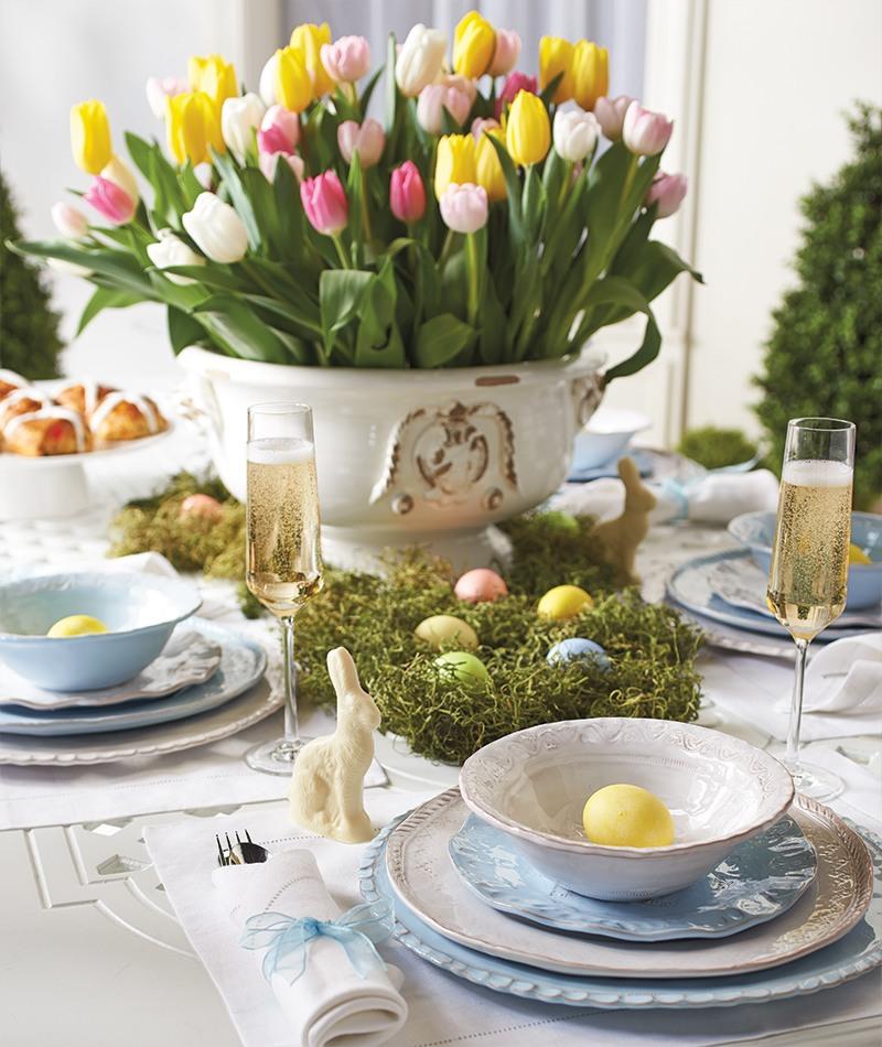 Великодній стіл в Україні - українські кулінарні звичаї та традиції святкування
