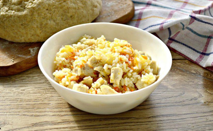 Начинка з куркою і рисом для пиріжків та пирогів