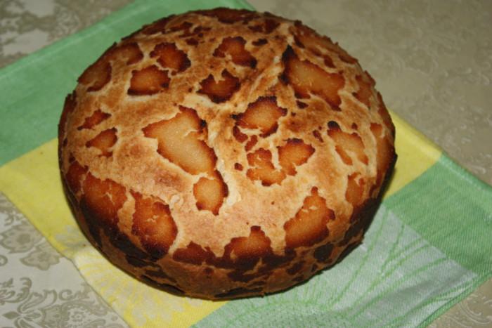 Леопардовий хліб – смачний домашній білий хліб з хрусткою скоринкою