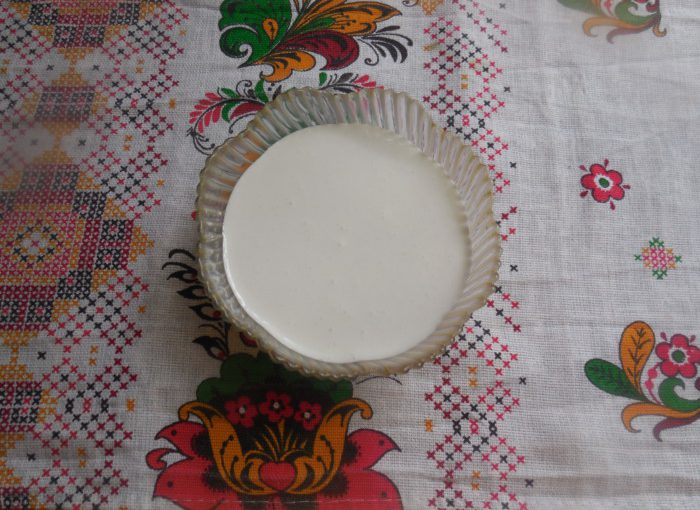 Пасхальна глазур з желатином для паски (без яєць)