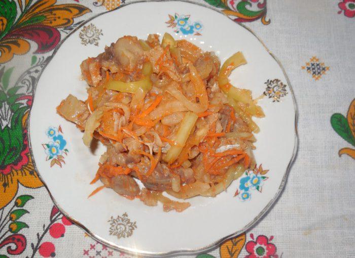 Корейський салат Хе з риби з морквою і овочами – смачна холодна закуска