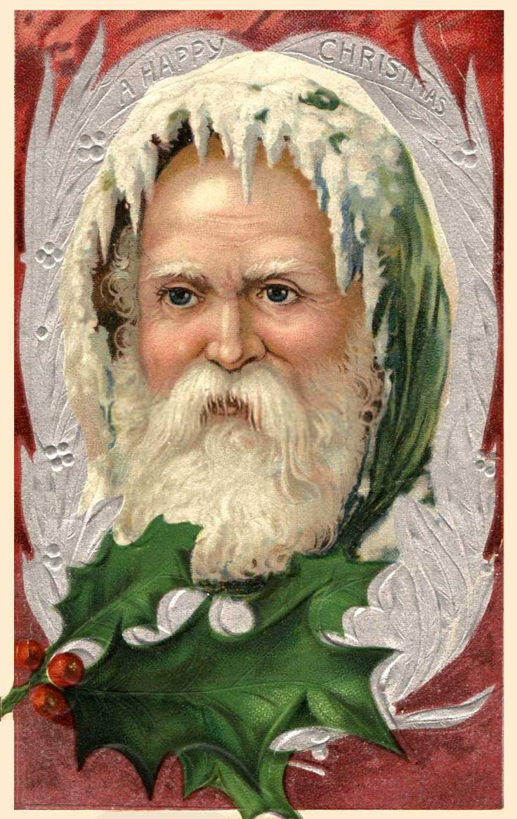 Милі та красиві старовинні листівки з Новим роком та Різдвом