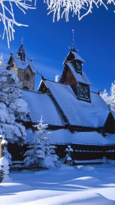 Зима, красиві картинки на телефон
