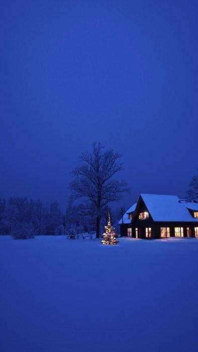 Зима, гарні картинки на смартфон