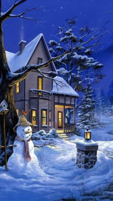 Зима, красиві картинки на айфон