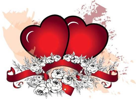 Красивівітальнілистівкидо дня святого Валентина