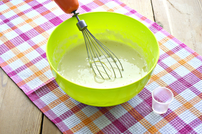 Товсті млинці на йогурті