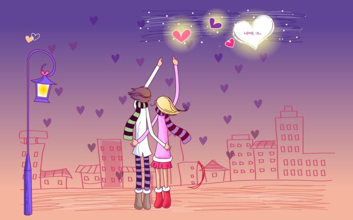 День святого Валентина вітальні картинки без текста