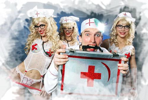 Картинки-листівки з Днем медика прикольні і смішні
