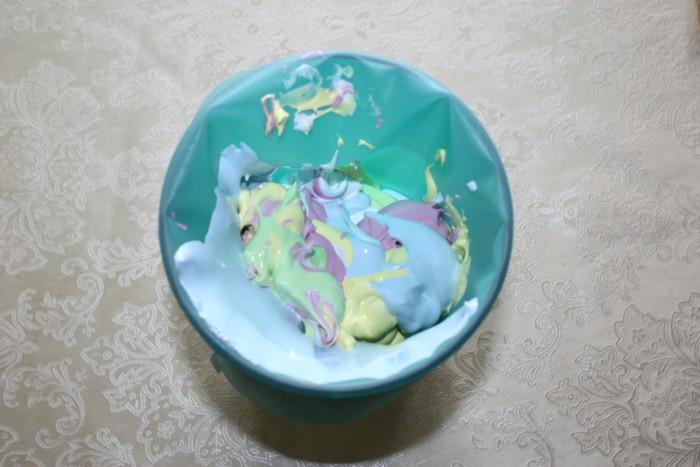 Кольорове безе на паличці - білкове прикраса для торта і кенді бару