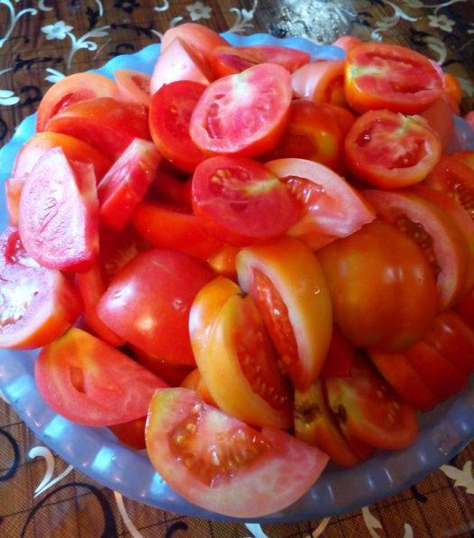 Домашній томат на зиму