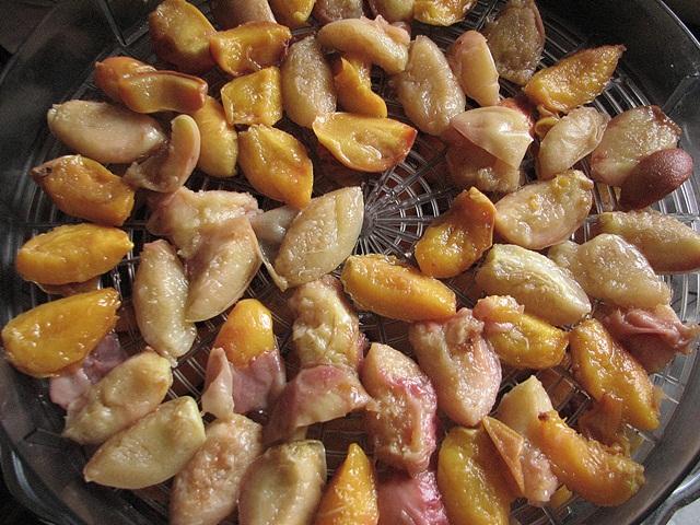 сушений персик