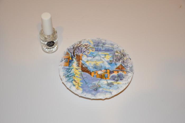 Підставка під гаряче з дисків своїми руками - новорічний подарунок з сд-дисків