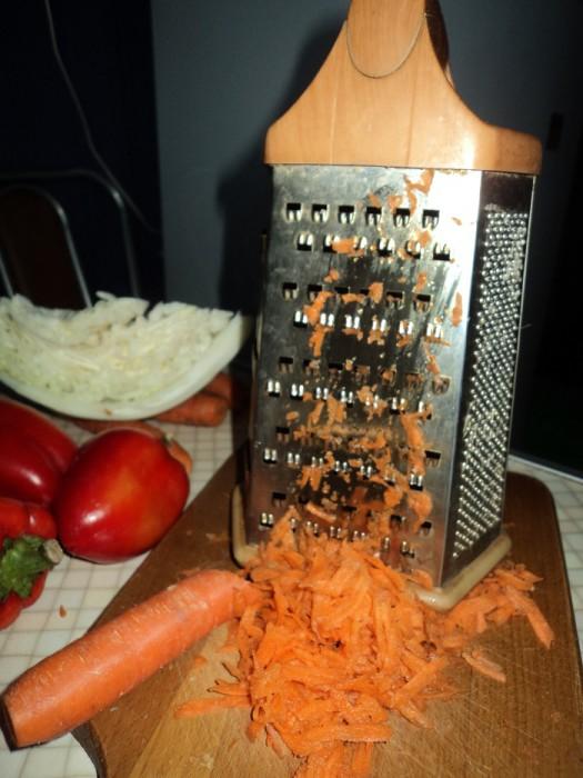 натерта морква