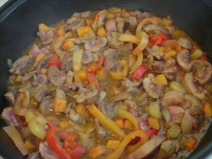 Нирки яловичі тушковані смачно, без запаху