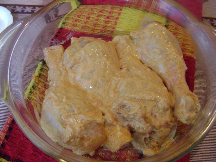 Курячі гомілки в духовці - в майонезі, з часником і спеціями