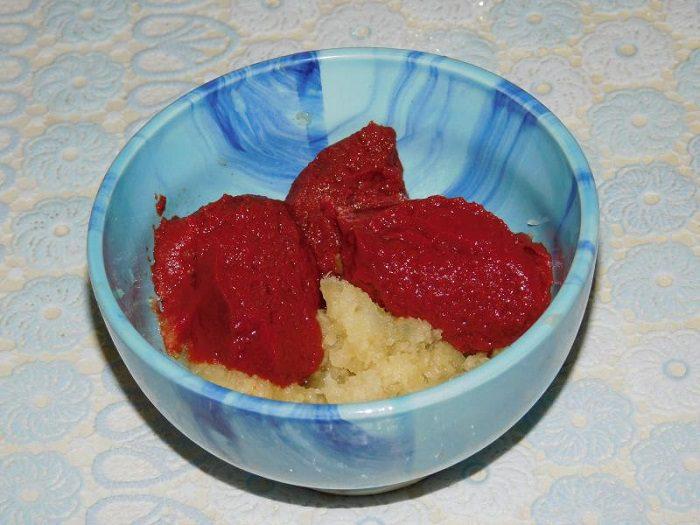 Кетчуп з червоної аличі