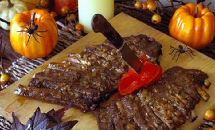 Страшне меню на Хеллоуїн своїми руками