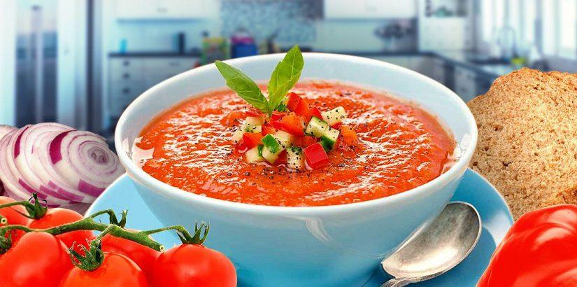 Томатний суп Гаспачо – холодний іспанський суп з томатів