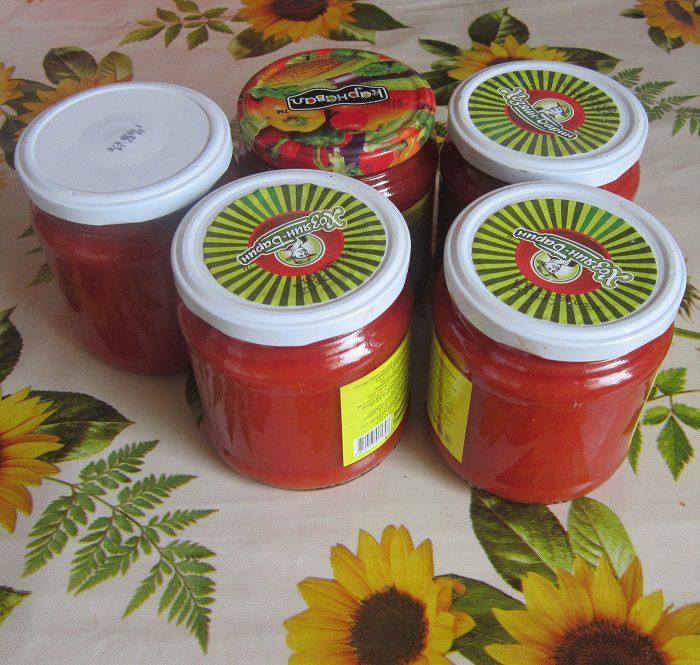 Томатний кетчуп на зиму