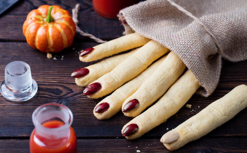 Печиво Відьмині пальці - страшне печиво у вигляді пальців