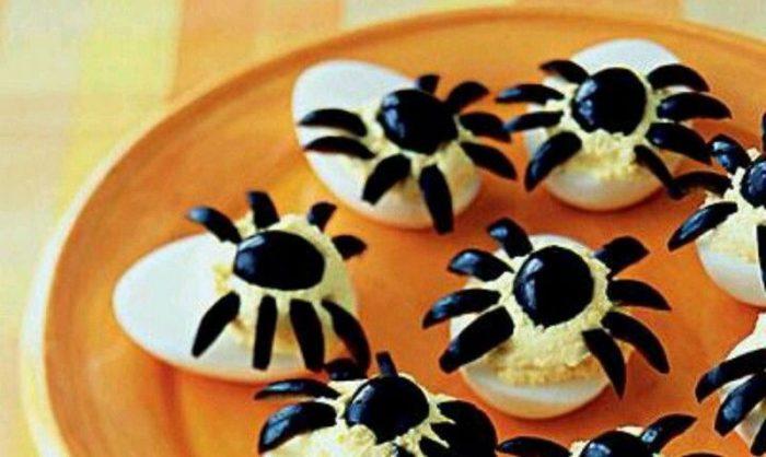 Павучки з яєць