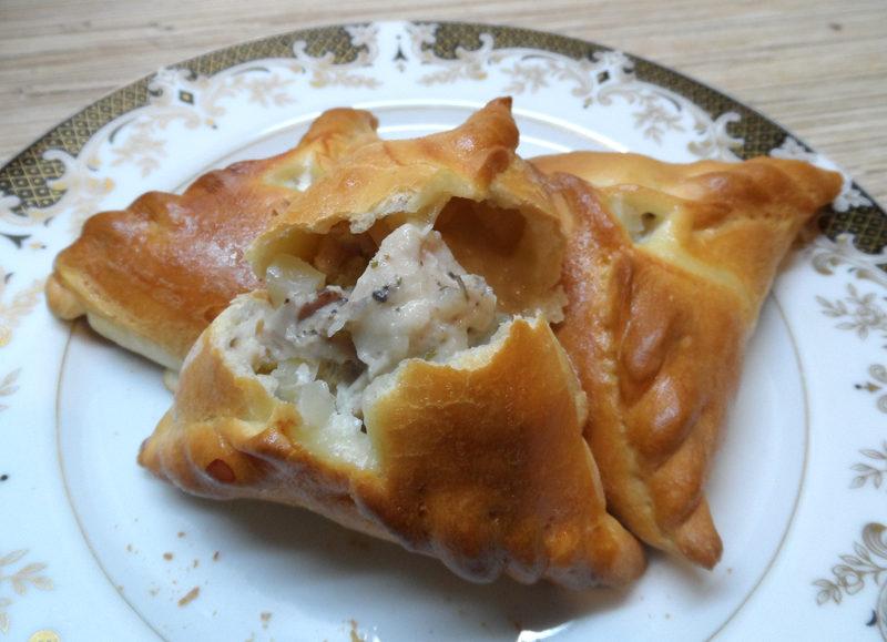 Ечпочмак по-татарськи з м'ясом і картоплею