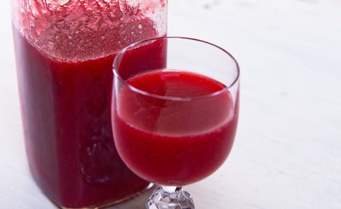 Домашній сироп з червоної смородини