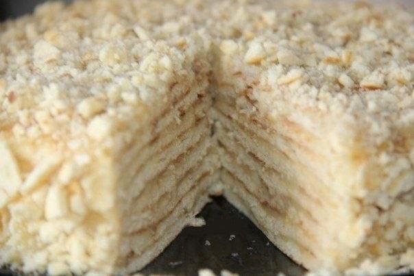 Торт Хвилинка на сковороді