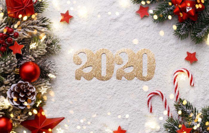 Красиві новорічні шпалери 2020