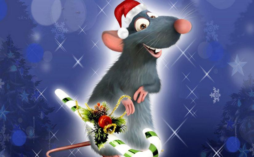 Новорічні шпалери рік Щура 2020 на робочий стіл з щурами, мишами, пацюками - картинки-заставки, шпалери на телефон в хорошій якості
