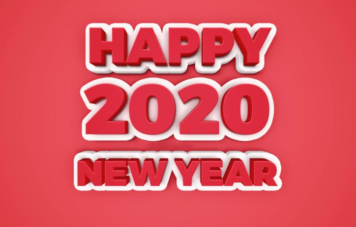 Новорічні заставки на робочий стіл 2020