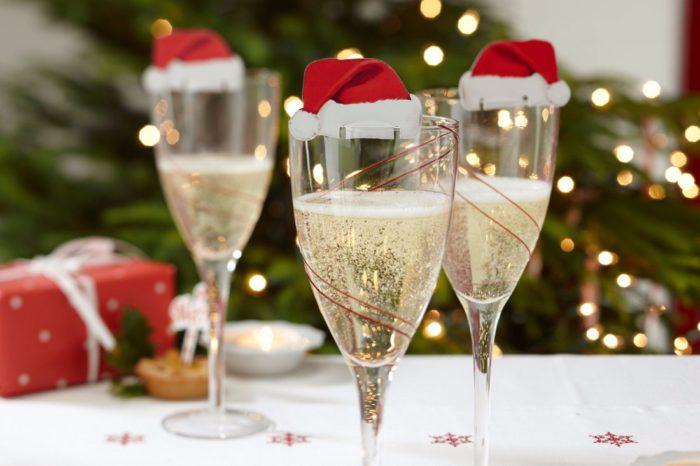 Самий новорічний напій - шампанське