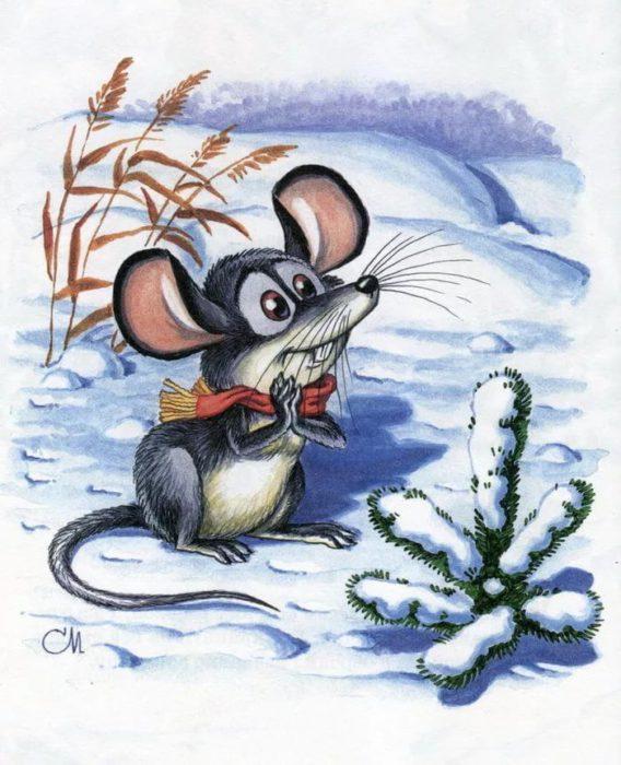 Красиві заставки з щуром, пацюком, мишкою на телефон