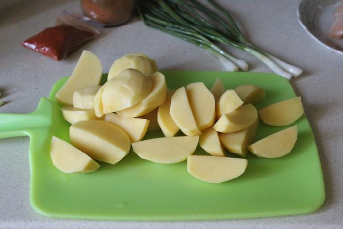картопляний папрікаш