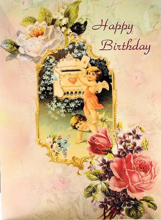 Вітальні листівки з Днем народження на англійській мові
