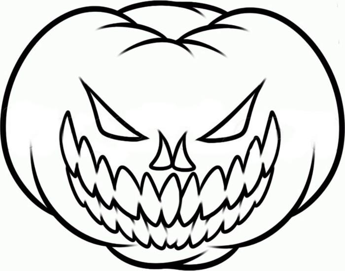 Розфарбування гарбуз на Хеллоуїн