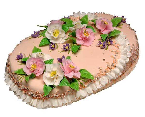 торт овальний