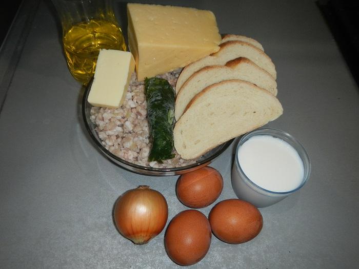 Смачні котлети з начинкою з яйця і сиру