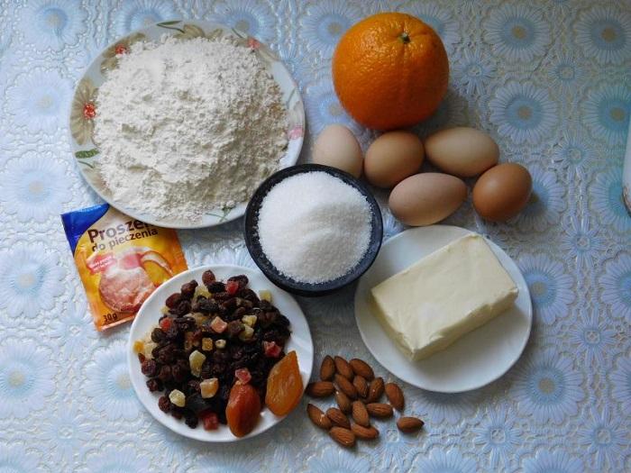 Англійська пасхальний кекс Симнела - кекс без дріжджів