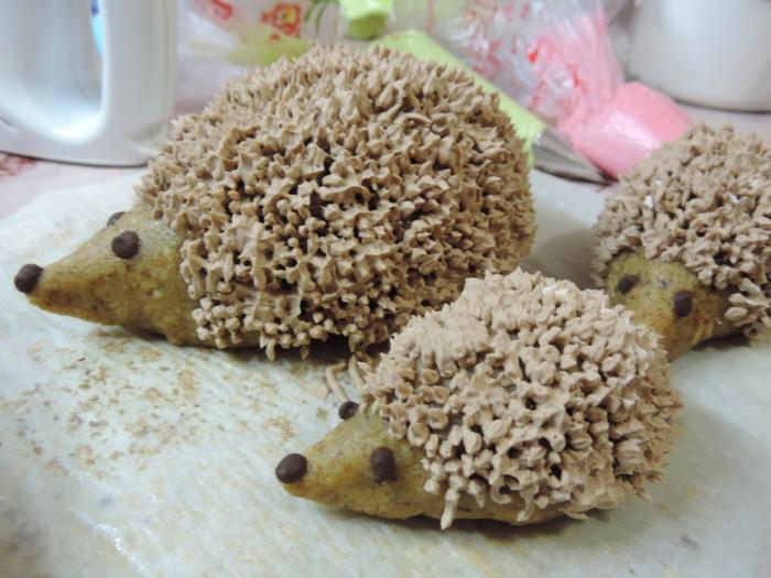 Тістечко Їжачки - домашнє тістечко з печива або бісквітної крихти