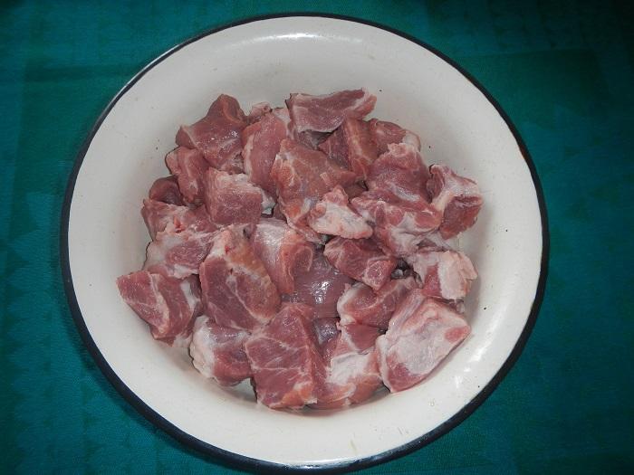 Соковита свинина на мангалі