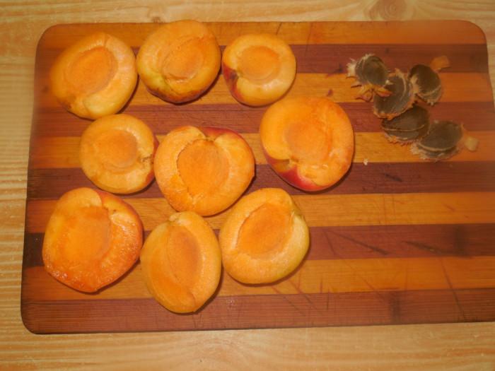 Ніжний чізкейк з абрикосами