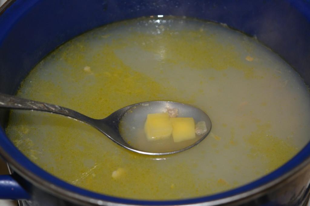 Суп з фаршем і галушками
