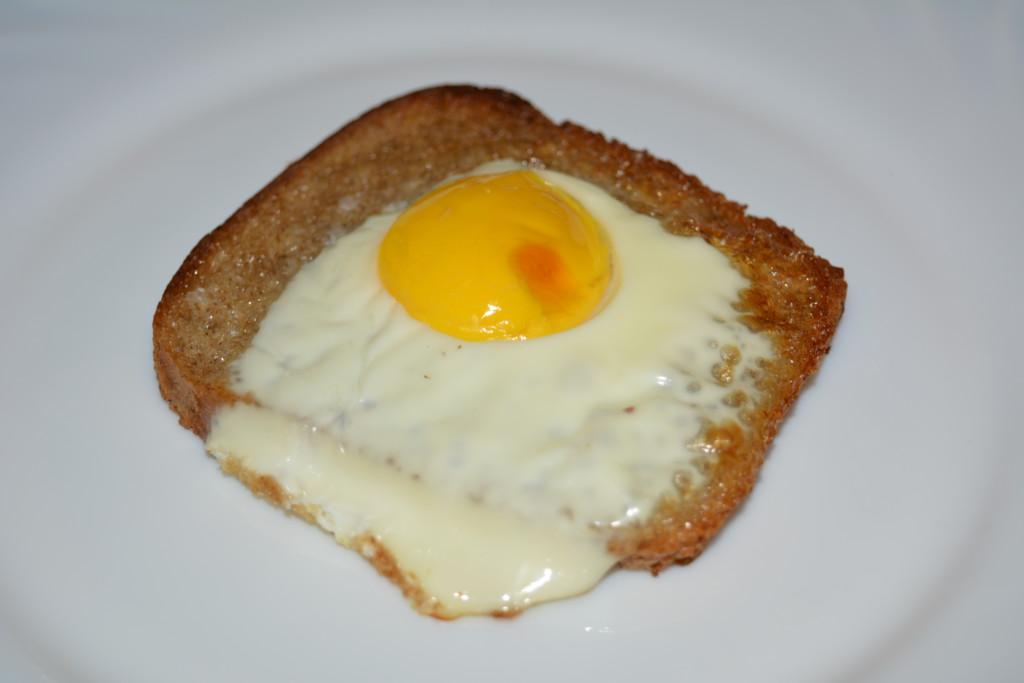 Грінки з яйцем